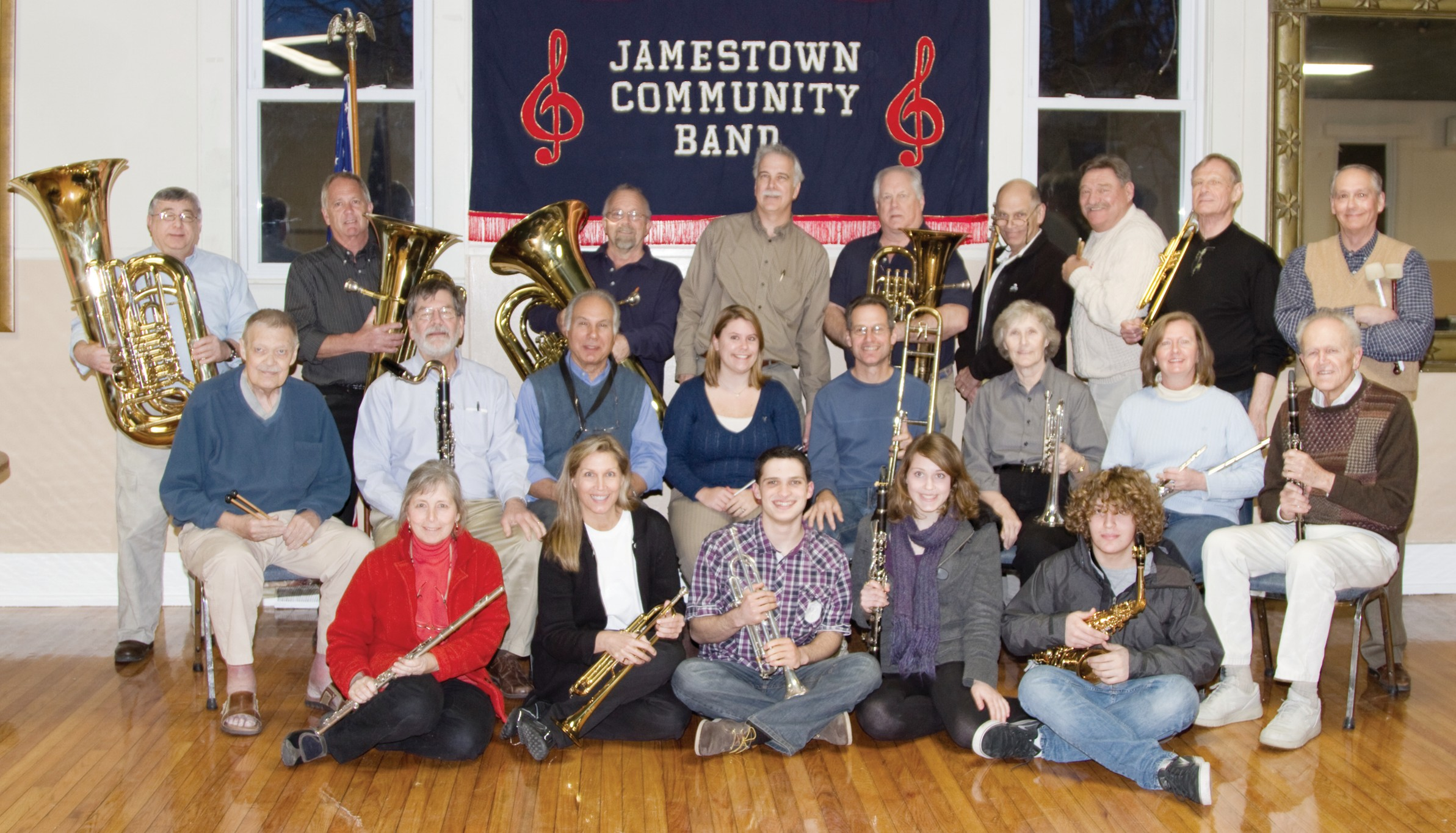 Image result for jamestown community band